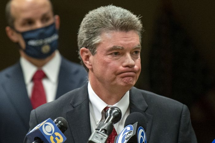 Delaware County DA: It is 'simply not true'